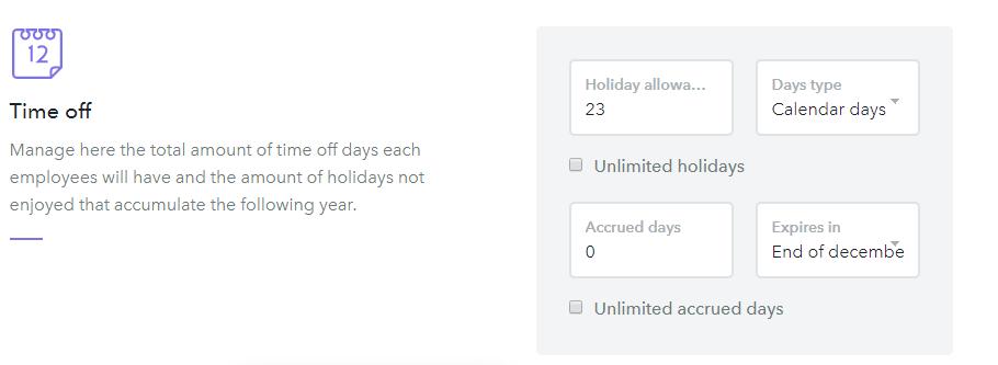 accrued vacations