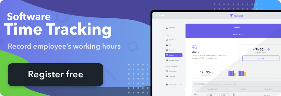 time tracking banner